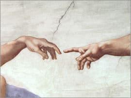 doigt de Dieu carillon sans fil