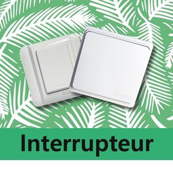 interrupteur simple et va-et-vient EcoDring sans fil sans pile