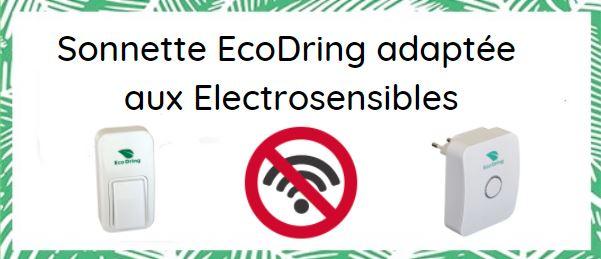 sonnette ecodring adaptee aux personnes electrosensibles
